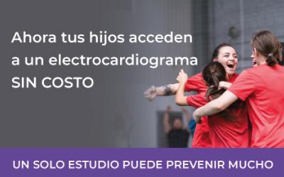 Espacio Adolescente – Electro cardiograma sin costo